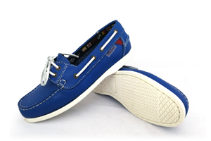 First - PU Blue Boat Shoe (Woman)