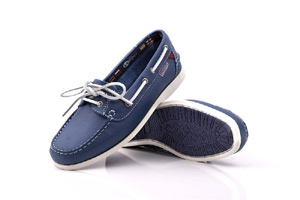 First - Royal Blue Boat Shoe (Woman)