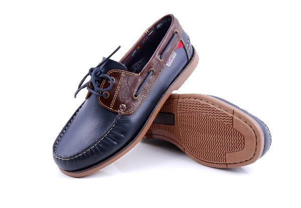 Bonifacio - Navy brown vitorlás cipő (Férfi) bd5eb7a189
