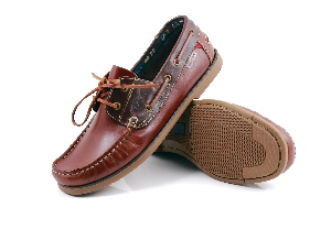 Bonifacio - Cognac/Brown Boat Shoe (Man)