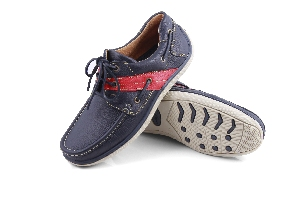 Tomyboat - Soft navy/red  Boat Shoe (Man)