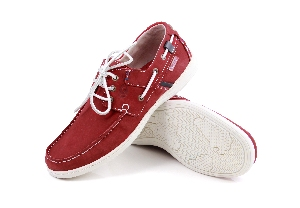 Iseo - T. red/Navy Boat Shoe (Man)